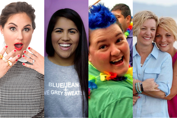 Discover new podcasts by LGBT Women in Talk Radio: Taylor Strecker, Ashlynn Salzano, Romaine Patterson, Kelli Carpenter, Anne Steele.